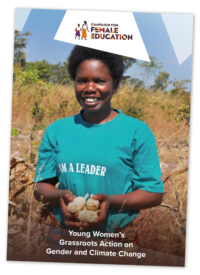 Young Women's Grassroots Action on Gender and Climate Changes