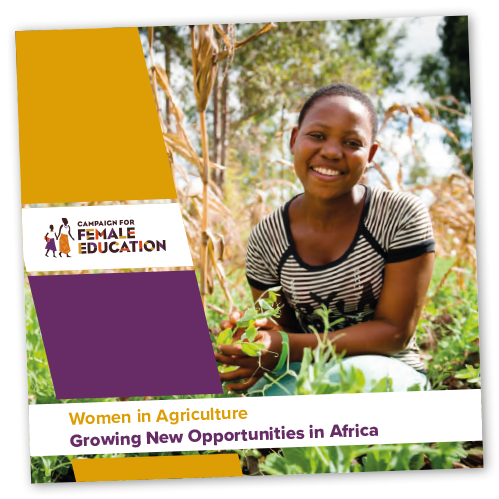 CAMFED women in agriculture brochure